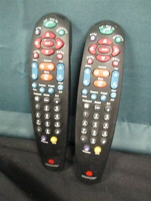 Lot of 2 Polycom VSX-5000 VSX-6000 VSX-7000 VSX-8000 Video Conference Remotes!