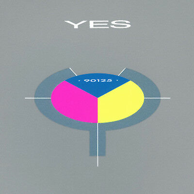 "Yes - 90125 (NEW 12"" PINK YELLOW BLUE TRI COLOUR VINYL LP)"