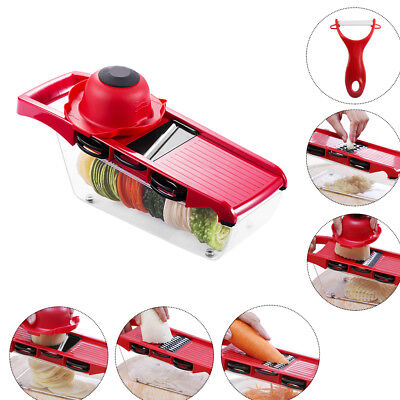 Multi-Functional Mandolin Vegetable Slicer Fruit Cutter Food Chopper Peeler Tool