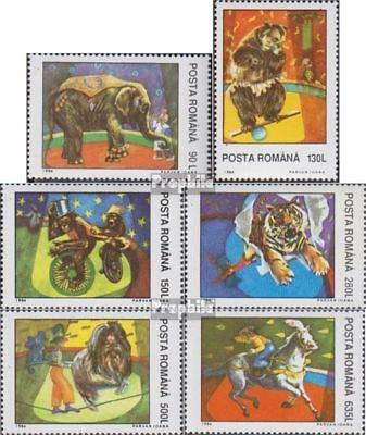Romania 5026-5031 (complete.issue.) unmounted mint / never hinged 1994 Circus