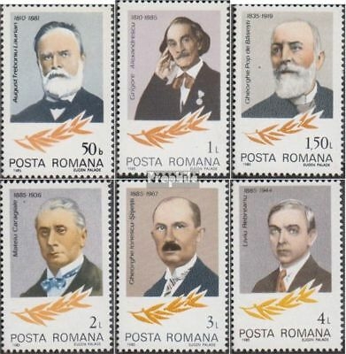 Romania 4124-4129 (complete.issue.) unmounted mint / never hinged 1985 Personali