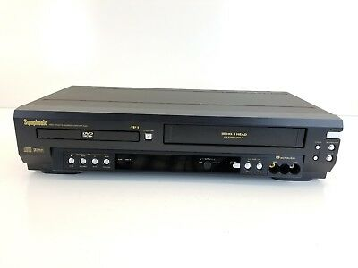 SYMPHONIC WF803 DVD VCR Combo Player VHS Recorder With AV ...
