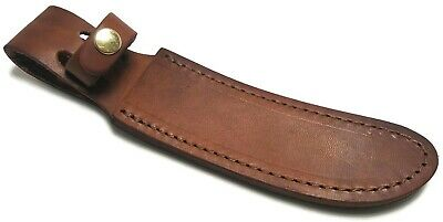 """Schrade Fixed Blade Leather Knife Belt Sheath for upsept blade to 5 1/4"""""""