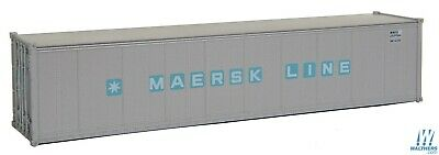 HO Maersk 40' Smooth-Side Container - Walthers SceneMaster #949-8305 vmf121