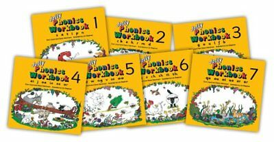 Jolly Phonics Workbooks 1-7 in Precursive Letters by Sue Lloyd 9781870946506