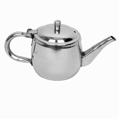 1 PC Stainless Steel Gooseneck Tea Pot Teapot Beverage Commercial 10 OZ SLGN032