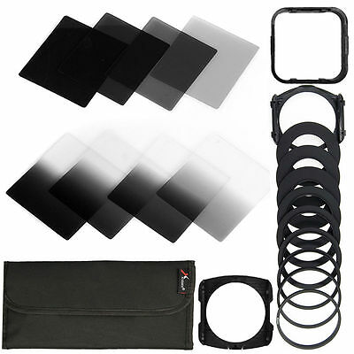 20in1 Neutral Density ND Filter Kit 49-82mm Adapter for Cokin P Set LF292
