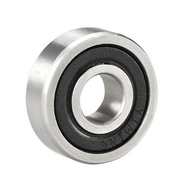 Deep Groove Ball Bearing 607-2RS Double Sealed 7mm x 19mm x 6mm Chrome Steel