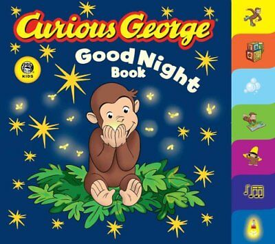 Curious George Good Night Book by H.A. Rey 9780618777112 (Board book, 2007)