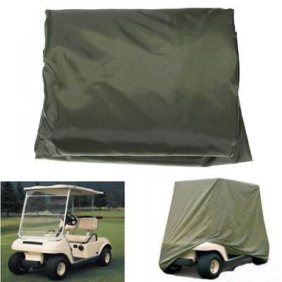 2 Passenger Golf Cart Protect Cover Waterproof For Yamaha EZGO Club Cart AU