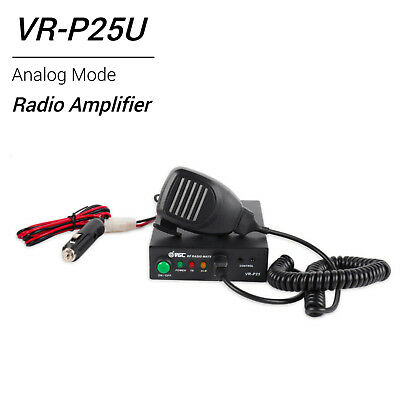 VR-P25U Amplifier for UHF 400-470MHz 20-40W(2-6W) Analog Mode for Two way Radio