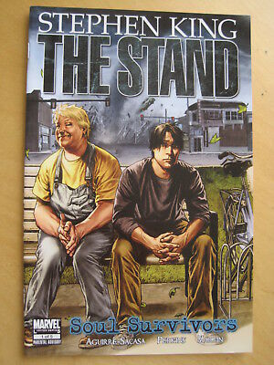 "STEPHEN KING : The STAND, ""SOUL SURVIVORS"" : issue 1. MARVEL. 2009"
