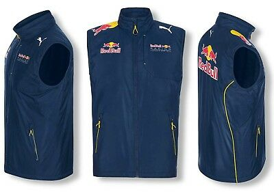 GILET Bodywarmer Vest Red Bull Racing Formula One 1 Team Unisex PUMA F1 NEW!