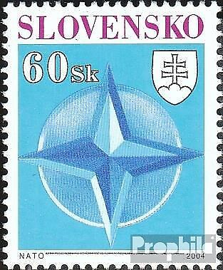Slovakia 485 mint never hinged mnh 2004 Accession to NATO