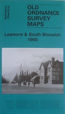 Old Ordnance Survey Maps Leamore & South Bloxwich 1900 Godfrey Edition New