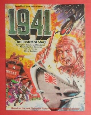 1941 , Illustrated Story , Steven Spielberg Movie Graphic Novel , Heavy Metal