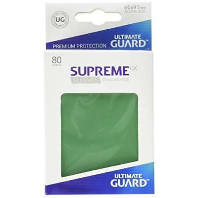 Ultimate Guard UGD010535 Supreme Ux Sleeves Standard Size Green (80)