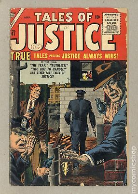 Tales of Justice #61 1956 GD 2.0