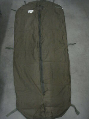 Orig.NL Armee CARINTHA Polycotton Inlet Schlafsack Inliner DEFENCE 4 Large  gebr