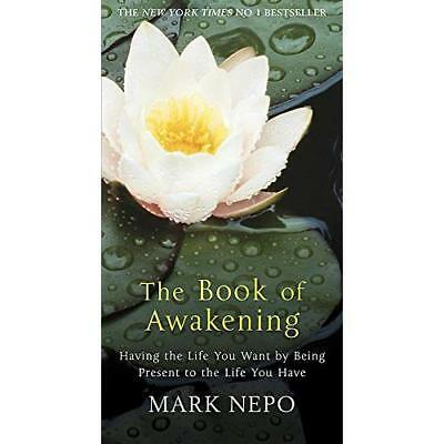 The Book of Awakening: Having the Life You Want By Bein - Paperback NEW Nepo, Ma