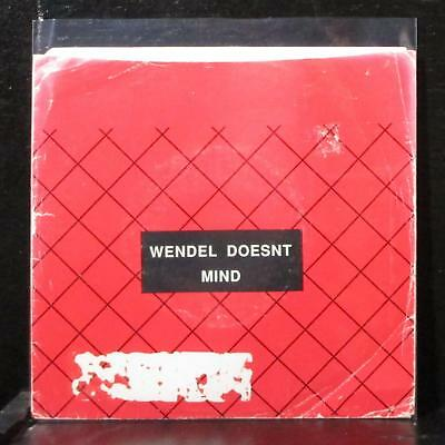"Wendel Doesnt Mind - New Life / We Are Lost 7"" Mint- Vinyl 45 WDM-002EP 1991"