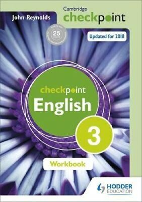 Cambridge Checkpoint English Workbook 3 by John Reynolds (Paperback, 2014)