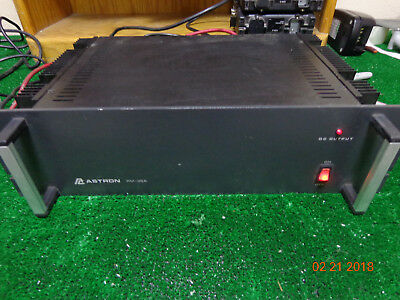 ASTRON RM-35A RACK Mount Motorola Kenwood Radio Repeater Power Supply #BS