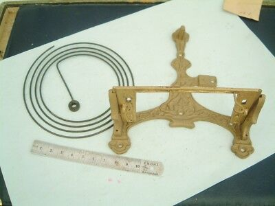 Clock makers Vienna clock Caste Brass Bracket with Its Gong Vienna clock repaire