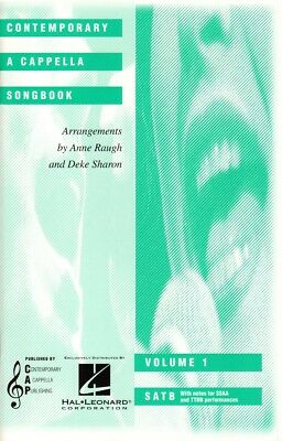 Contemporary A Cappella Songbook Collection 1 Noten für Chor SATB