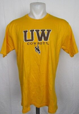286102dd622 University of Wyoming Cowboys Men's Embroidered Logo T-Shirt NCAA ...