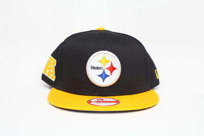 finest selection 127af 0f119 Pittsburgh Steelers New Era 9fifty Baycik NFL Antonio Brown snapback