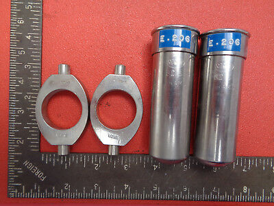 MSE laboratory 120.5 bucket holders with MSE 82.5 gram buckets LOTS466TS2