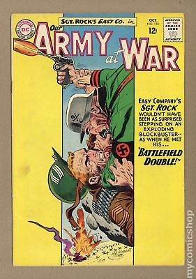 Our Army at War #135 1963 VG- 3.5