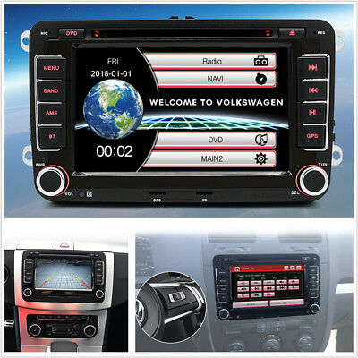 """7"""" 2Din HD Car SUV DVD GPS Radio Stereo Player For VW Polo/Passat b6/Golf 6/Seat"""