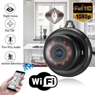 1080P HD Wireless Mini WIFI IP Camera Smart Home Security Camera Night Vision