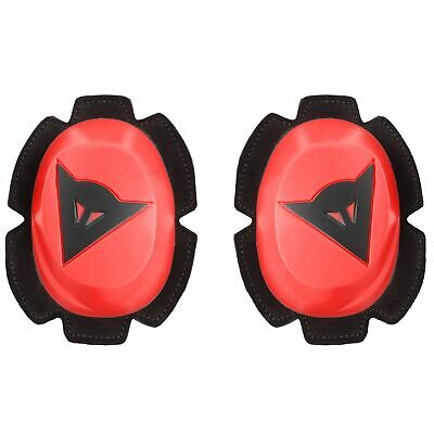 Dainese Motorcycle Racing / Race Pista Rain Knee Sliders Fluro-Red / Black