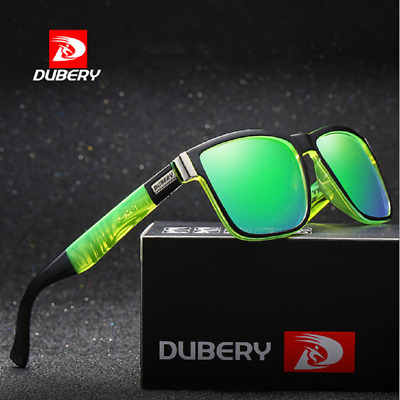 DUBERY Polarized Mens Sport Sunglasses Outdoor Riding Fishing Summer Goggles