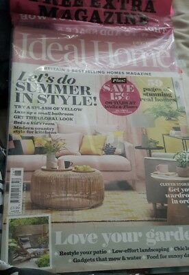 Ideal Home Magazine June 2018 + Free How To Add Space & Light Magazine - New