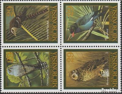 Palau-islands 20-23 Block Of Four Never Hinge complete.issue. Unmounted Mint
