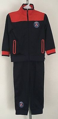 Paris Saint Germain Navy Tracksuit Club Product Size Children 36 Months New