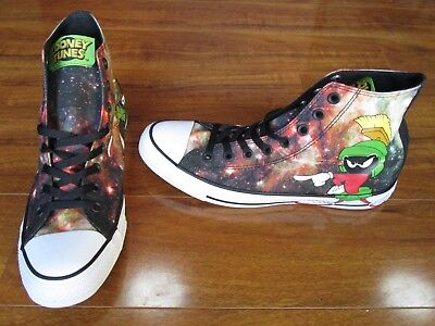 9a8c50bdb4a NEW Converse Chuck Taylor Looney Tunes Shoes Men s Size 9 Marvin the Martian