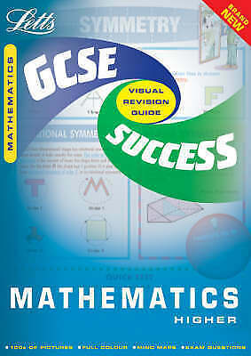 GCSE Maths Higher Success Guide by Letts Educational (Paperback, 2001)