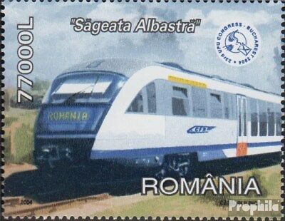 Romania 5805 (complete.issue.) unmounted mint / never hinged 2004 Hochgeschwindi
