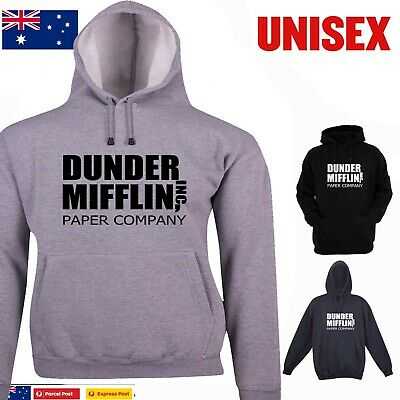 The Office Dunder Mifflin Paper Company Logo Classic Funny Hoodies hoody tee's