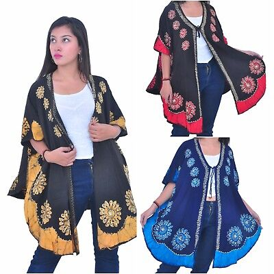 Wholesale Lot of 5 Womens Boutique Clothing Open Poncho Jackets [230037]