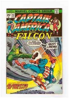 Captain America # 192 Mad-Flight ! grade 9.2 scarce book !!