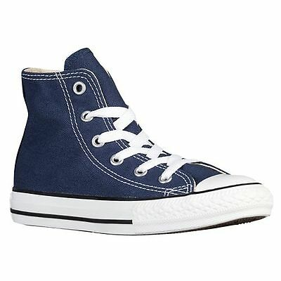 NEW KIDS CONVERSE ALL STAR HI NAVY WHITE 3J233 BOYS GIRLS CLASSIC ORIGINAL