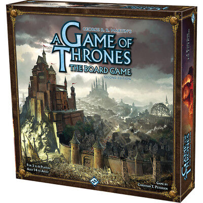 A Game of Thrones The Board Game 2nd Edition - Brand New