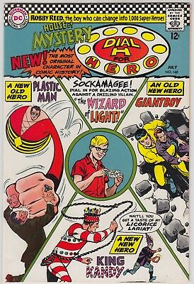 House Of Mystery #160, Dc 1966, Vf/nm Condition, 1St Silver Age Plastic Man