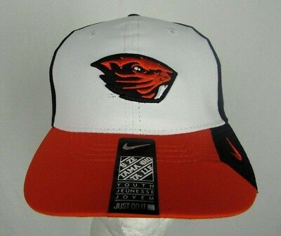 best sneakers 64e99 76a28 Nike Oregon State Beavers NCAA Youth Adjustable Performance Hat (Size 8 20)
